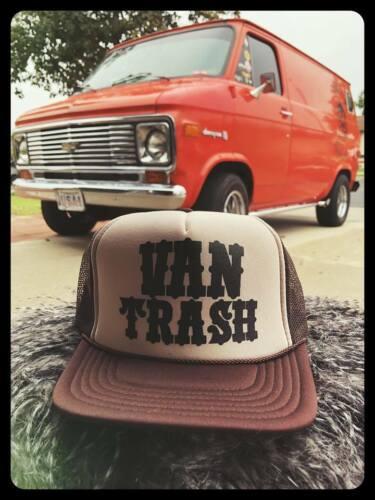 VAN TRASH trucker hat cragar wheel cooper cobra mag dash econoline g10 tradesman