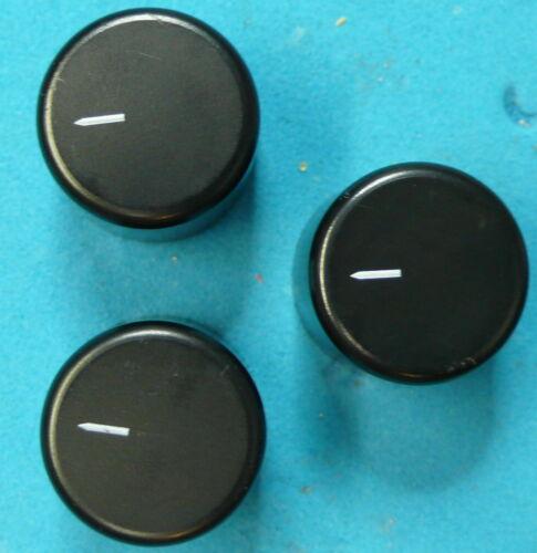 Guitar Effects Pedal Set of 3 Control Knobs Electro-Harmonix Nano Series