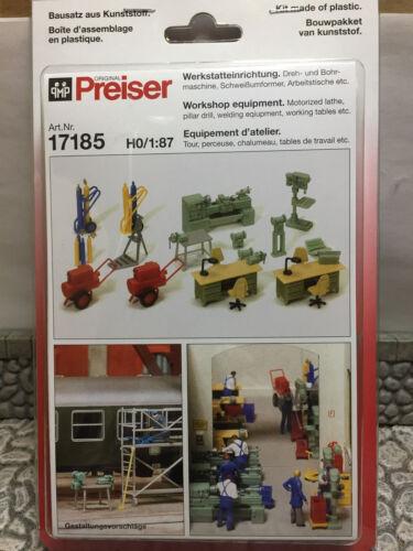 kit h0 Preiser 17186 création atelier
