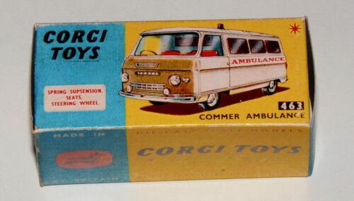 463 Reprobox Corgi Toys Nr Commer Ambulance