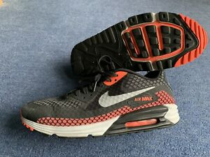 Sustancial Archivo champú  Nike Air Max 90 Lunar Trainers. Uk 11 Hot Lava / Black. | eBay