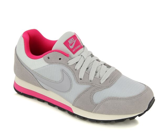 Nike Wmns Md Runner 2 Platinum GreyPink Women's Trainers Shoes UK 8.5