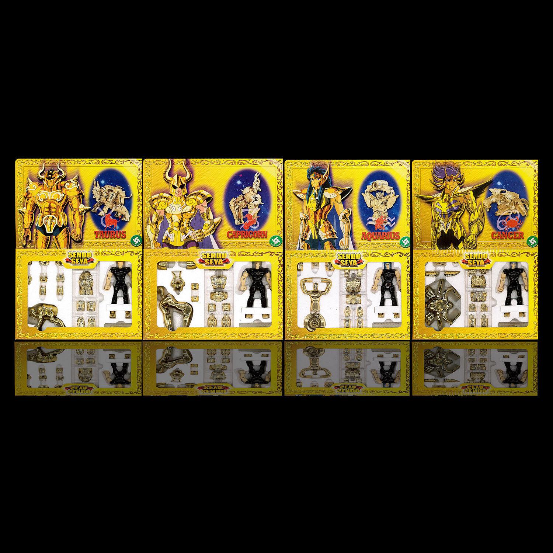 Sendo Seya Saint Seiya Myth Cloth Figur - Aquarius Cancer Taurus Capricorn Set