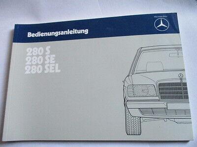 Mercedes W140 S600 V12  S Klasse Betriebsanleitung Bedienungsanleitung Anleitung