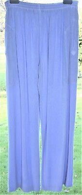 """HAMPSTEAD BAZAAR Trousers Plus Size W32"""" - 52"""" L30 Lilac Lavender Soft Gorgeous"""