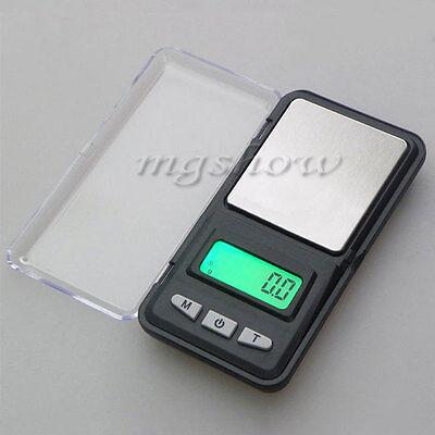 Pocket Digital Jewelry Scale Weight 500g x 0.1/0.01g Balance Electronic Gram New
