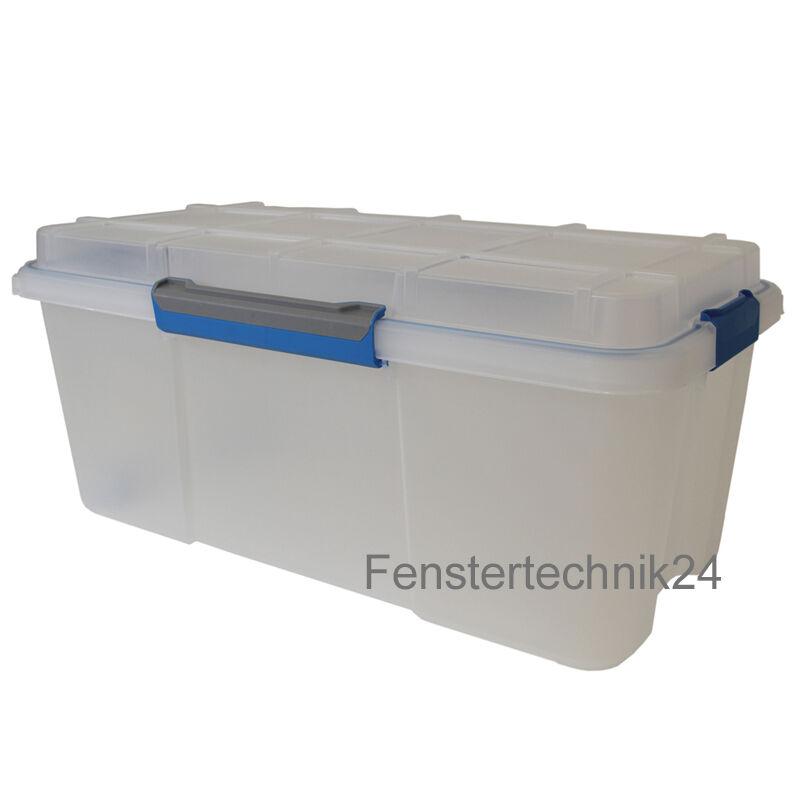 Aufbewahrungsbox Multifunktionsbox Scuba M 490x380x340 transparent, wasserdicht | Outlet Online Store