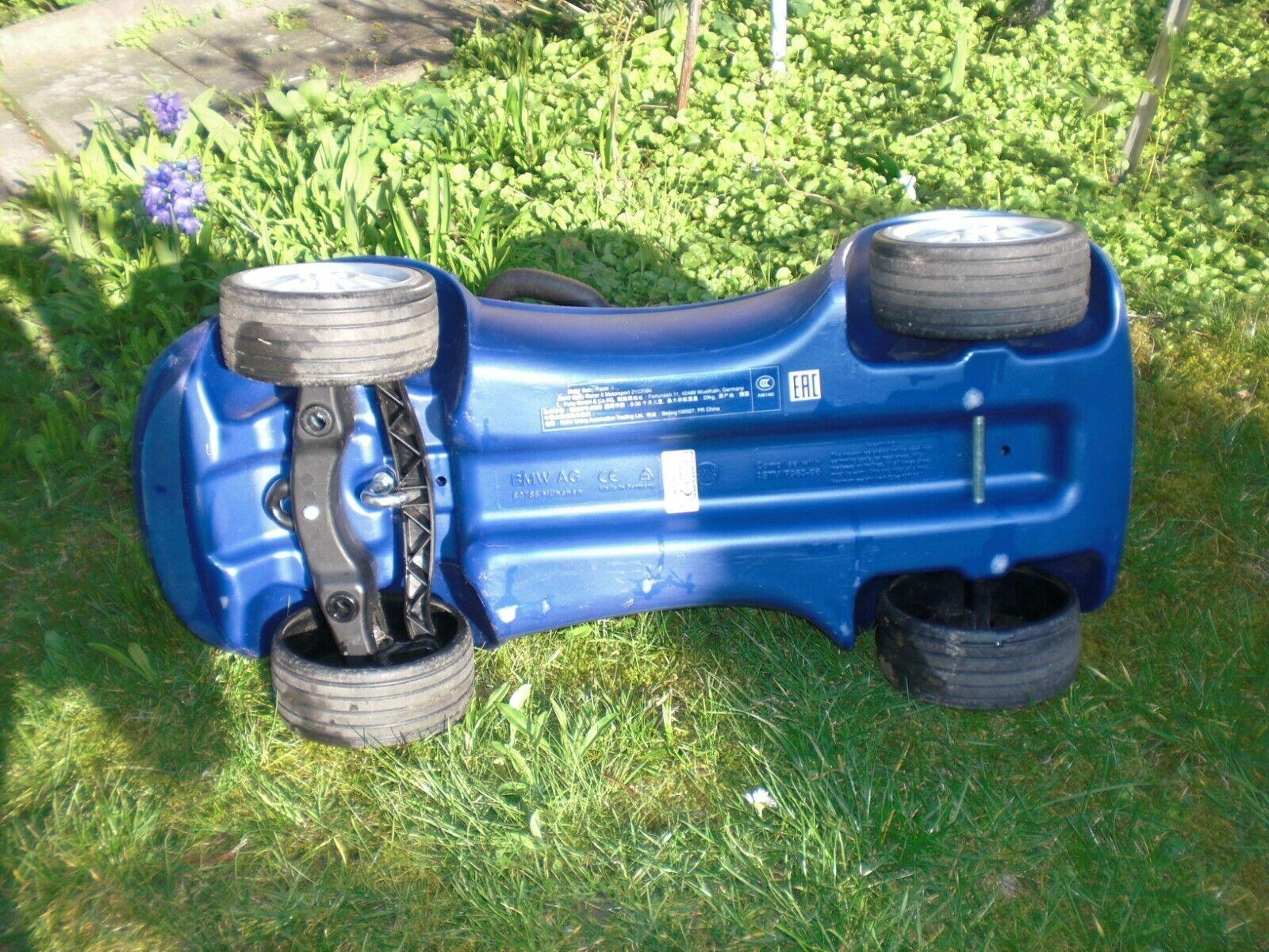 Original BMW Motorsport Baby Baby Baby Racer II blau weiß Mathis Racing Team Puky Rutscher 6a2625