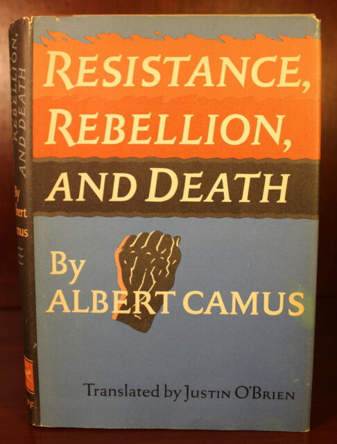 Albert Camus Resistance Rebellion And Death  St American  Albert Camus Resistance Rebellion And Death  St American Edition Essays Last Year Of High School Essay also Paper Essay  Essay About Science And Technology