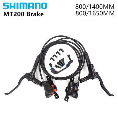 Shimano BR+BL-MT200 MTB Bicycle Hydraulic Disc Set Brake Front /& Rear Set