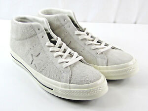 631ee46a9fae Converse One Star Mid Vintage Egret White Suede Shoes Mens Size 10.5 ...