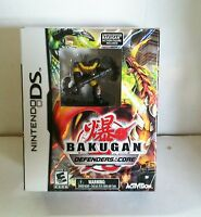 Bakugan: Defenders Of The Core With Figure Nintendo Ds Lite Dsi Xl 3ds 2ds