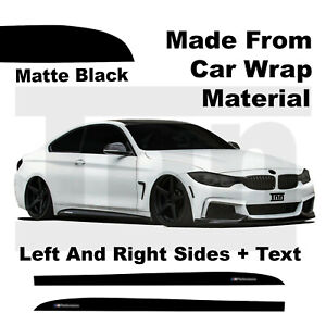 Side-Skirt-Stickers-For-BMW-F32-F33-F36-4-series-M-Performance-Vinyl-Wrap-Decals
