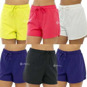 Ladies Twin Pack Jersey Shorts Womens Hot Pants Lounge ...