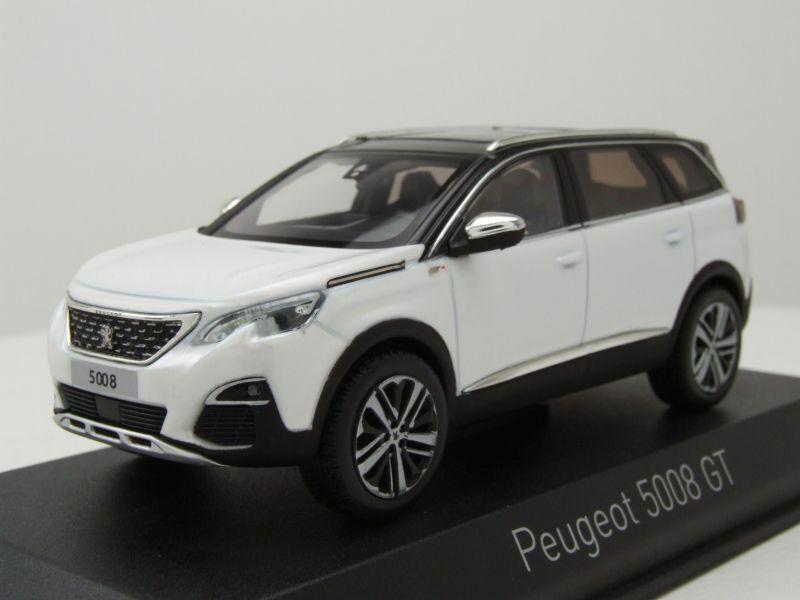 Peugeot 5008 Gt 2016 White Metallic Modellauto 1 43 Norev