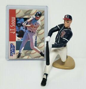 J.T. SNOW - California Angels MLB Kenner Starting Lineup SLU 1997 Figure & Card