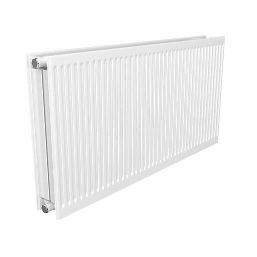 Quinn UK Made 3-in-1 Compact//Round-Top//Seam-Top Type 11 Single Panel Single Convector Radiator 500mm x 1300mm White
