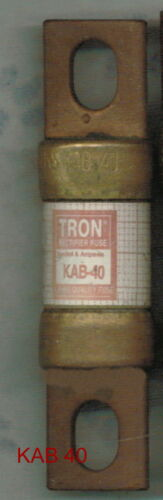 TRON KAB40 FUSE KAB 40  BUSSMANN 40 AMP 250 VOLT