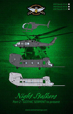 WW Decals 72-03 Night Stalkers-Part 1-Conception to GOTHIC SERPENT