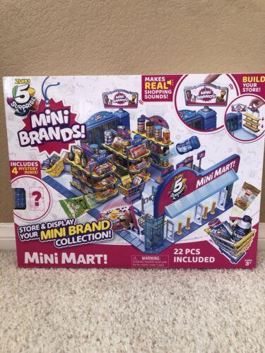 5 Surprise Mini Brands BALL MINI MART By ZURU Store /& Display your Mini Brands