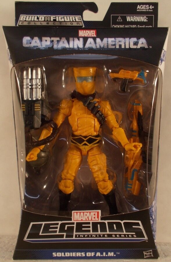 Hasbro Marvel Legends Captain America Series Mandroid BAF Soldiers Of A.I.M. MIP