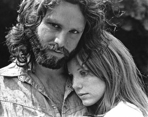 "JIM Morrison Pamela QUADERNI LE PORTE PHOTO 11x14/"""