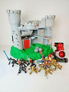 Fisher-Price-Vintage-1994-Medieval-Siege-Castle-Play-Set-7710-15-Figurines