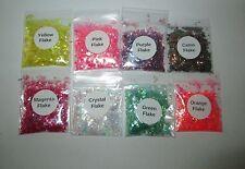 Iridescent Flake Glitters ~ Acrylics ~ Gels ~ Perfect for Natural & False Nails