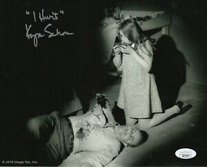 Kyra-Schon-Autograph-Signed-8x10-Photo-Night-of-the-Living-Dead-JSA-COA
