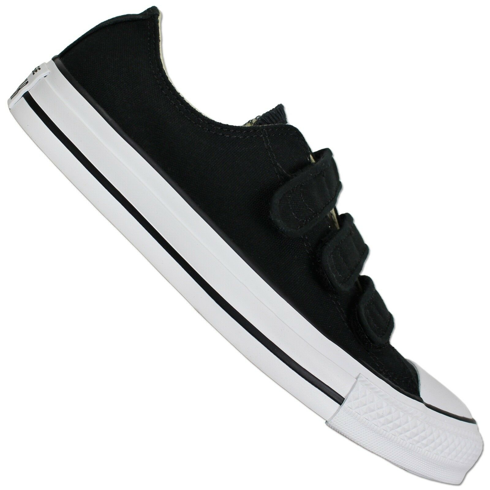 Converse All Star Mandrin Taylor 3V Ox Low chaussures noir Fermeture Scratch