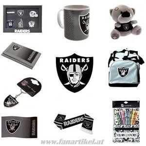 Oakland-Raiders-Fanshop-NFL-Football-Shop-Fanartikel-Fahne-Schal-Tasse