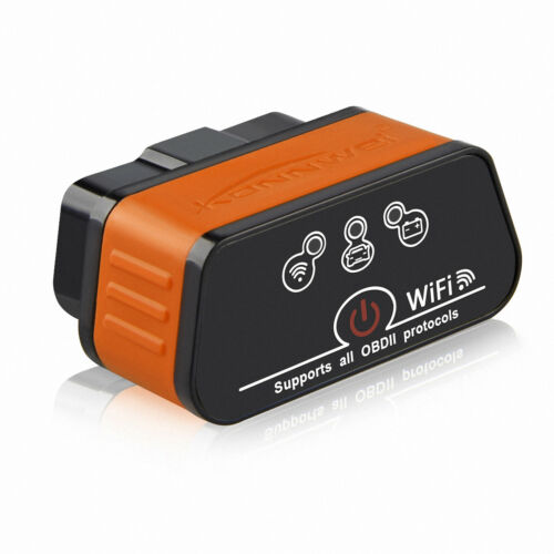 ELM327 OBD2 Auto Scanner Tool ICar2 Wifi 327 V1.5 Car Konnwei iPhone ISO Android
