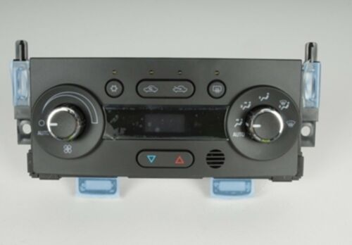 HVAC Control Panel-Heater and AC Control w//Rear Window Defog Switch fits G6