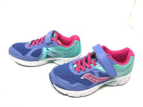 422 H SC57945 Cohesion 10 AC Lavande//Menthe//Rose Chaussures De Course Filles Saucony