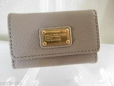 New Marc by Marc Jacobs Classic Taupe Key Ring Case