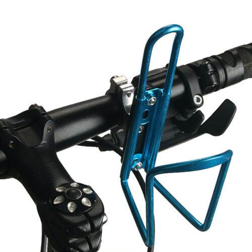 Qu/_ Bicycle Bike Cycle Clamp-on Kettle Holder Rack Water Bottle Cage Mount Adapt