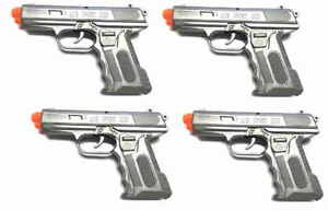 4-M11-Airsoft-Pistols-Set-with-Silver-Grey-M11-Style-Airsoft-Gun-4-Pack