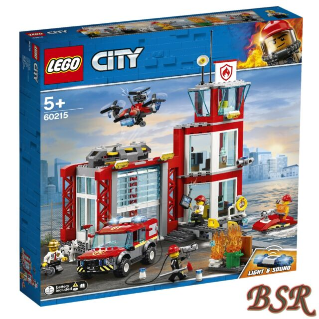 Lego City : 60215 Fire Station & Livraison & Neuf & Emballage D'Origine