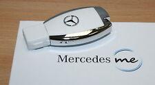 origi Mercedes Benz me USB Stick 2.0 8 GB in Auto Schlüssel optik weiss weiß NEU