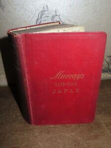 1901-HANDBOOK-for-TRAVELLERS-IN-JAPAN-20-COL-MAPS-amp-PLANS-KYOTO-YOKOHAMA-FORMOSA