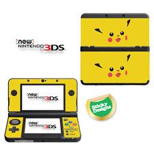 Pokémon Pikachu Vinyl Skin Sticker for NEW Nintendo 3DS (with C Stick)