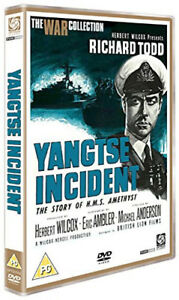 Yangtse-Incident-The-War-Collection-DVD-All-Region-New-Factory-Sealed