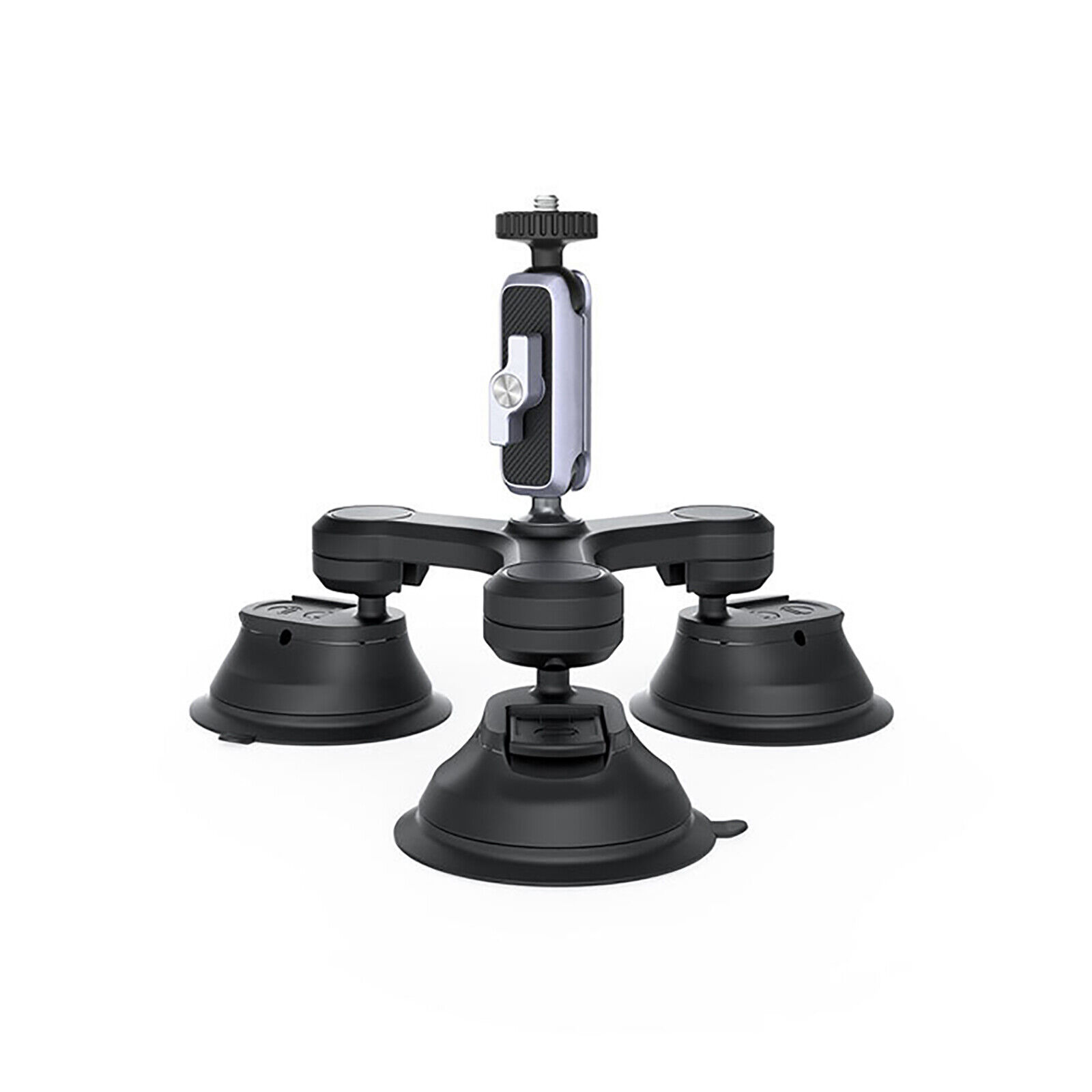 Three-ArmMount Tripod Suction Cup Stand Bracket Camera Suction Mount Car Mount