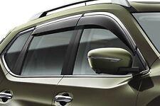 Nissan X-Trail (2014 >) Wind Deflector Set - Chrome Finisher (H08004CC0A)