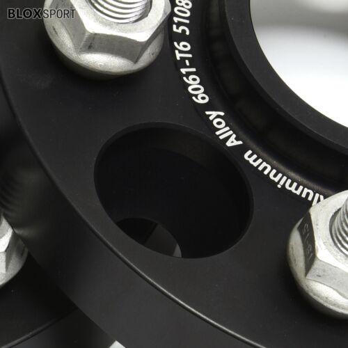 4X 15mm /& 20mm Anodized 5x108//5x4.25 Wheel Spacers for Jaguar XJ Type XF XK XKR