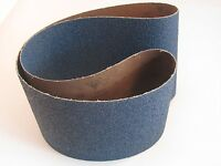 """Sia Abrasives Zirconia Sanding Belt 150 (6"""") mm x 1220(48"""")mm P80 Grit Pack of 5"""