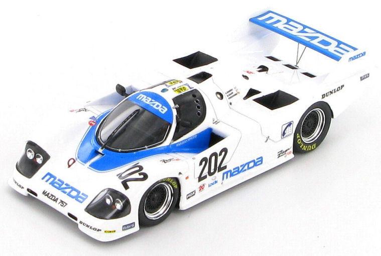 Mazda 757 757 757 Le Mans 1987 1 43 - S0641 1ca339