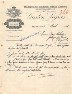 Ancienne-lettre-Fabrique-de-liqueurs-fruits-amp-sirops-Gaston-Legras-1913