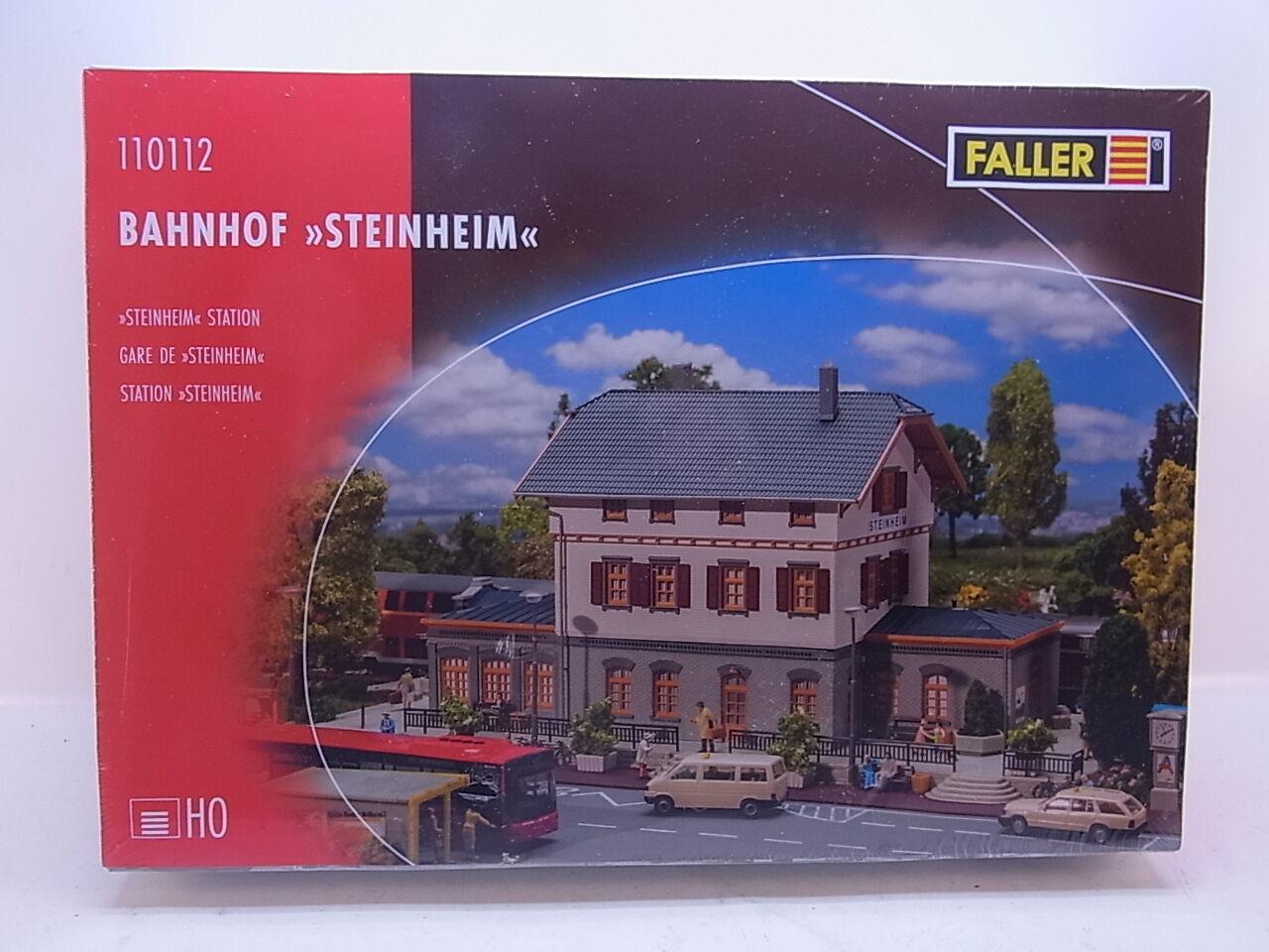 Lot 42556 | Faller h0 110112 stazione ferroviaria  Pietra  CASA KIT NUOVO IN SCATOLA ORIGINALE