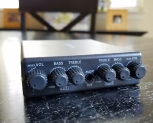 Details about AEQ ONE Headphone Amp 2-Channel Stereo EQ EACH Channel, L+R  Volume Controls Char